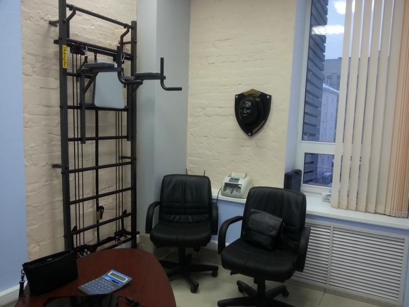 Тренажер МаэстроНокаут в кабинете